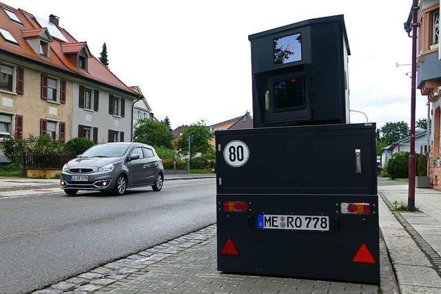 Stadt Rheinfelden setzt neue Technik gegen Raser ein