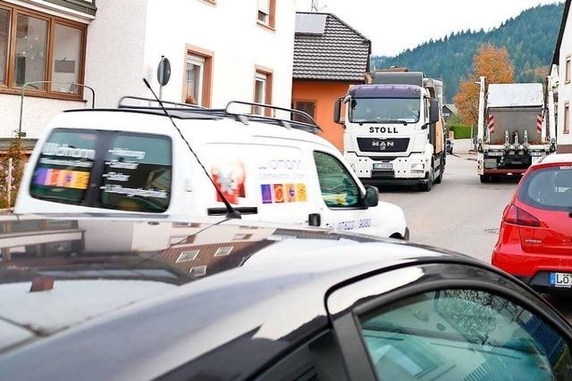 Die Kanderner Waldeckstraße gilt als gefährlich