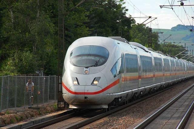 ICE-Züge sollen künftig in Haltingen gereinigt werden