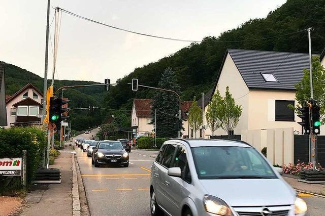 Ausgiebige Diskussion über die Verkehrssituation in Degerfelden
