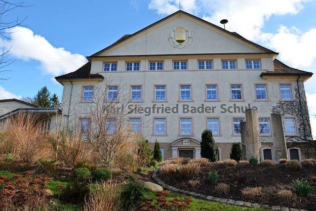Die Karl-Siegfried-Bader-Schule als künftiges Grundschulzentrum muss saniert werden
