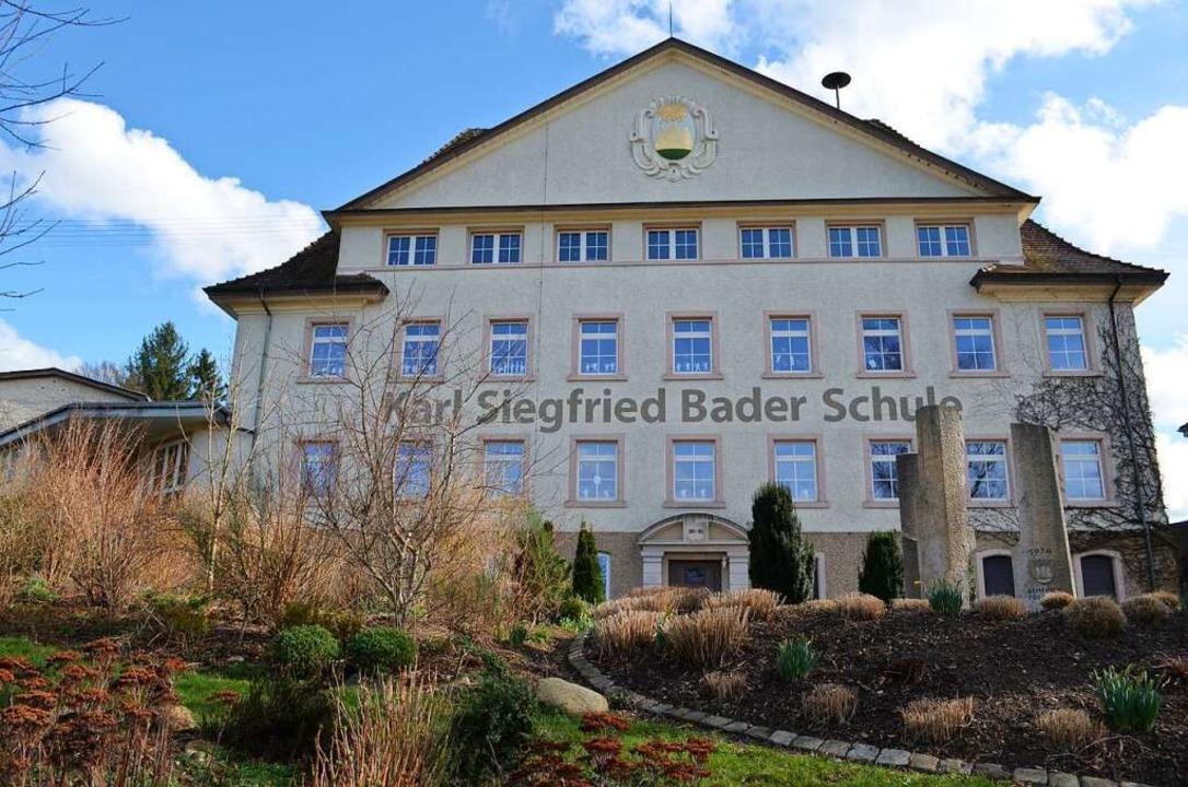 Die nach dem früheren Elzacher Ehrenbü...ndschulzentrum der Stadt werden soll.   | Foto: Nikolaus Bayer