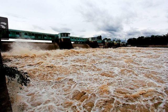 Wasserstände an Flüssen und Seen steigen auch im Südwesten