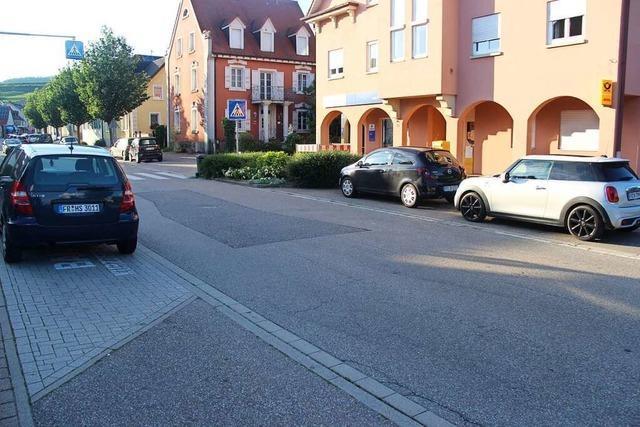 Parken soll in Bötzingen nur noch auf gekennzeichneten Flächen erlaubt sein