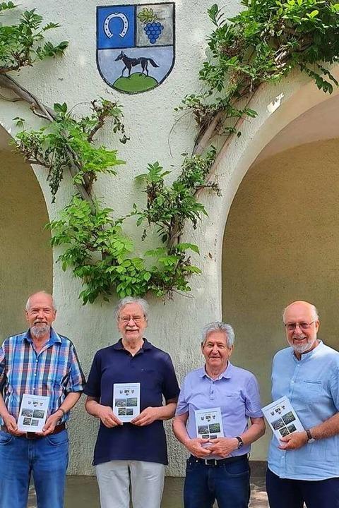 Das Autoren-Quartett (von links): Pete...Eckhard Meihofer und Wolfgang Wissmann  | Foto: Julius Wilhelm Steckmeister