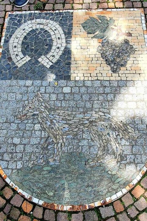 Im Wappen vereint sind die Ortsteile von Schallstadt.    Foto: Julius Wilhelm Steckmeister