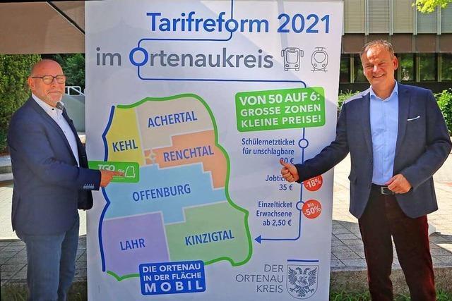 Günstige Tickets für attraktiven ÖPNV in der Ortenau