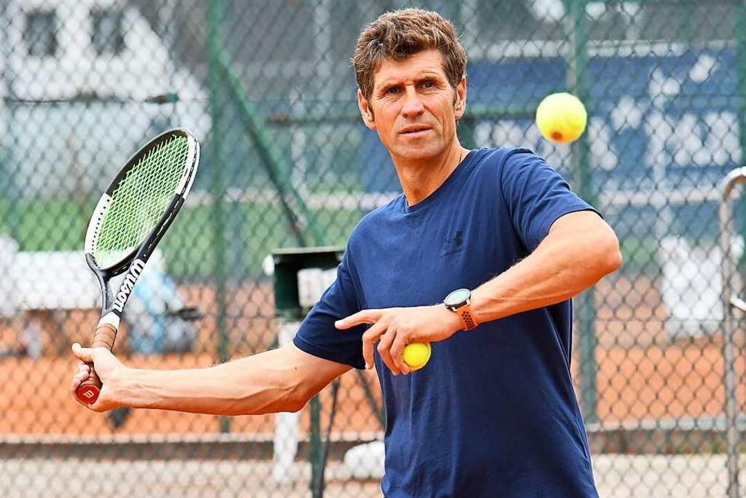 Maxim Sosnovski spielt immer noch für den TC Ettenheim-.    Foto: Wolfgang Künstle