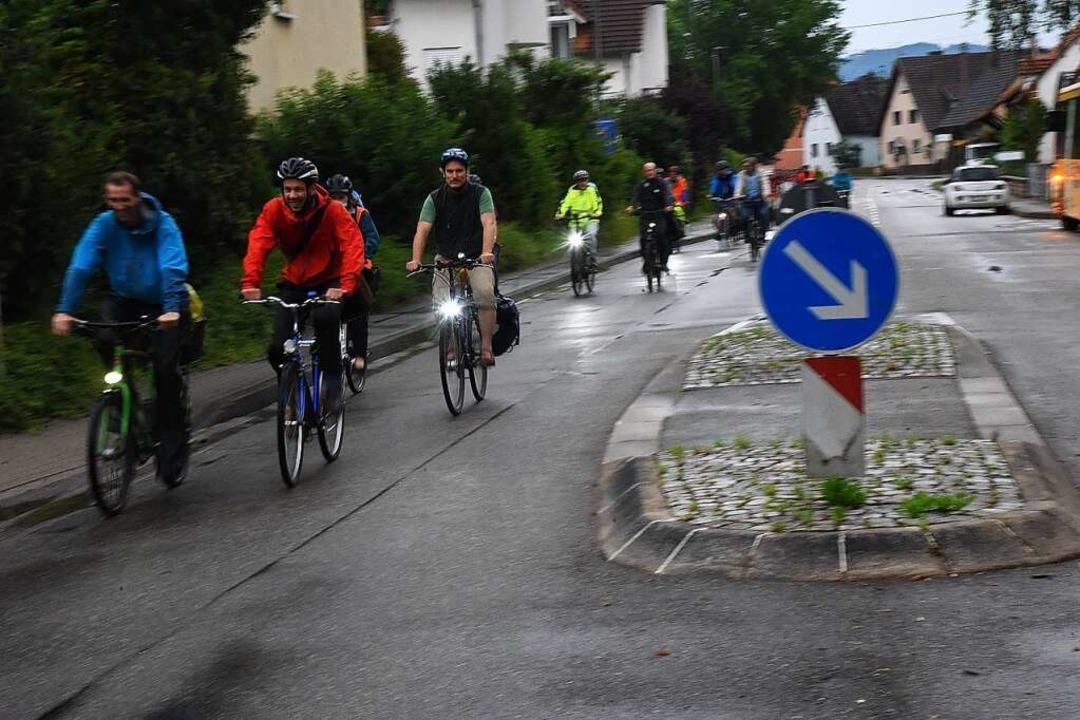 Zwischen Denzlingen und Emmendingen fü... B3 durch den Stadtteil Wasser.    Foto: Markus Zimmermann