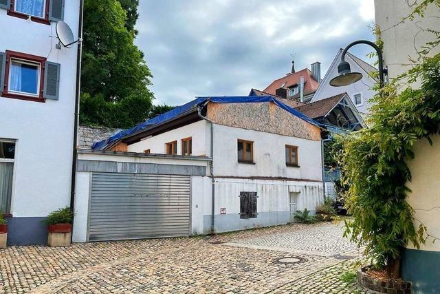 Niedergebranntes Gebäude in Müllheimer Krafftgasse soll künftig auch sozialen Zwecken dienen