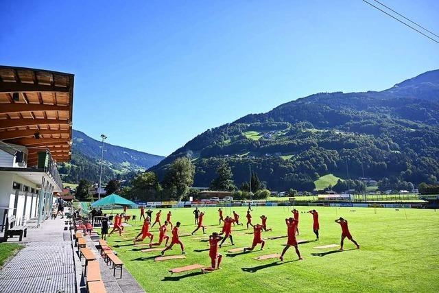 SC Freiburg bezieht zum 15. Mal Trainingslager in Schruns