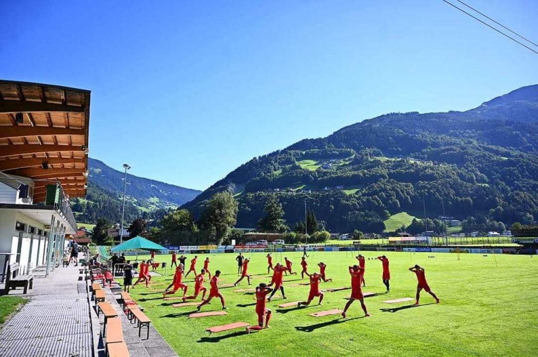 SC Freiburg bezieht Trainingslager in Schruns (Archivbild von 2020)  | Foto: Achim Keller