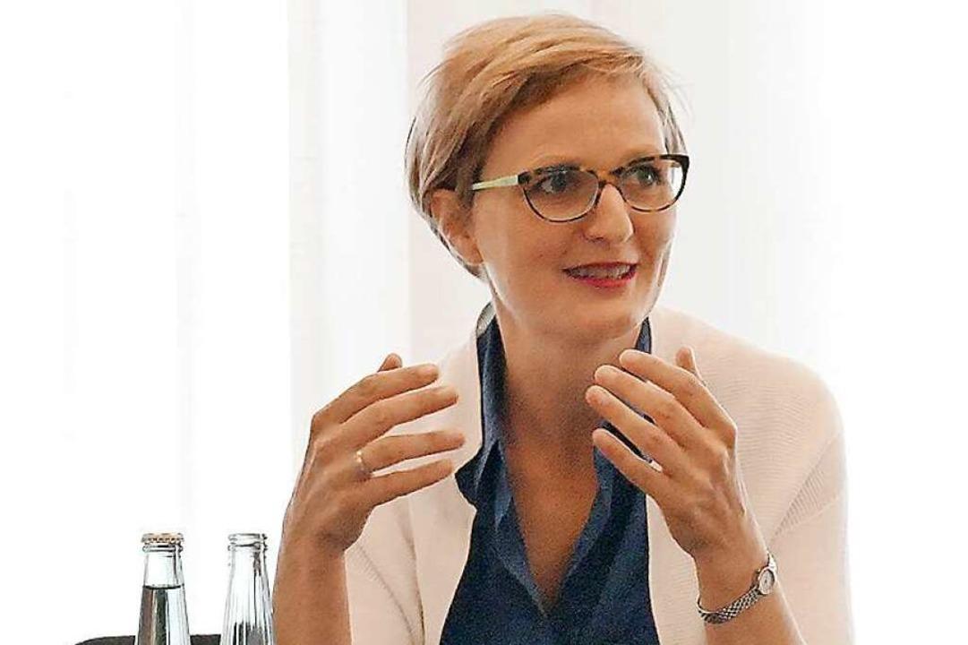 Franziska Brantner führt die Südwest-Grünen in den Bundestagswahlkampf.  | Foto: Michael Jauss