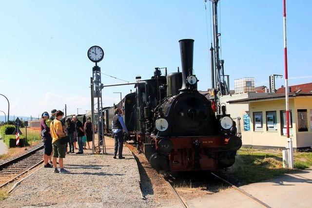 Die Zahl der Gäste in der Kandertalbahn war bisher dürftig