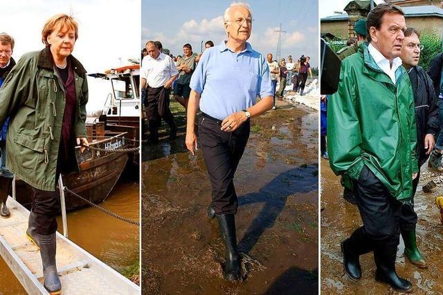 Hochwasserkatastrophe im Wahlkampf kann vor allem den Grünen nützen