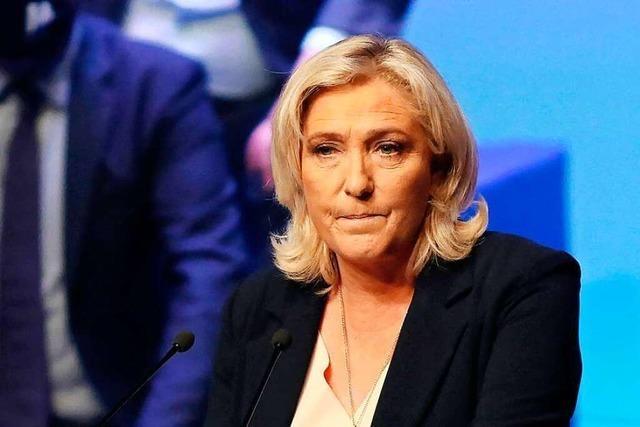 Warum Deutschland Marine Le Pens neuer Lieblingsfeind ist