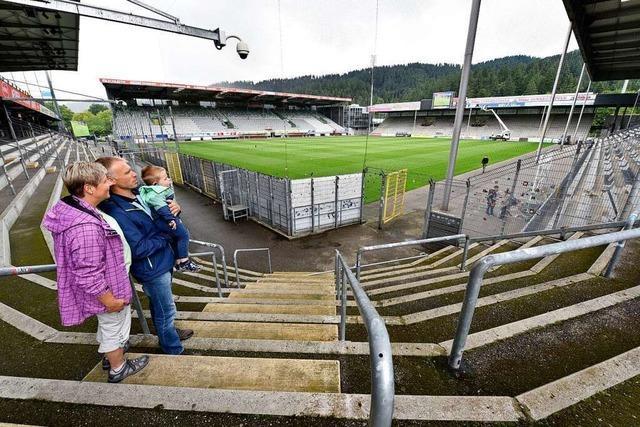 Das SC-Stadion lädt ein zum Abschiedsbesuch