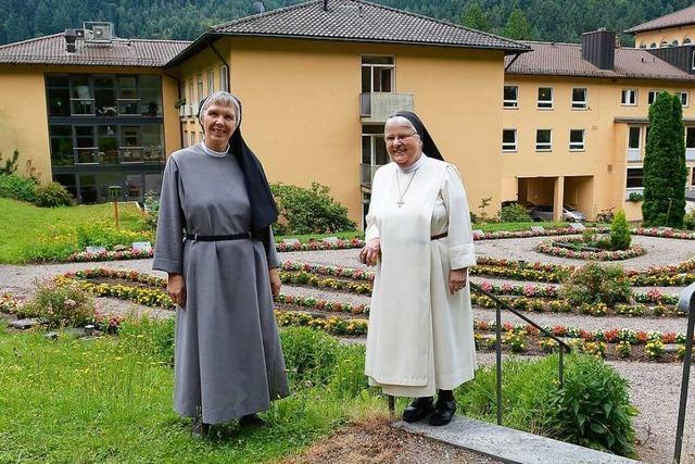Nun leben auch Dominikanerinnen im Kloster von Freiburg-Günterstal