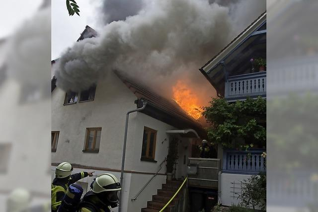 Aufbau nach verheerendem Brand
