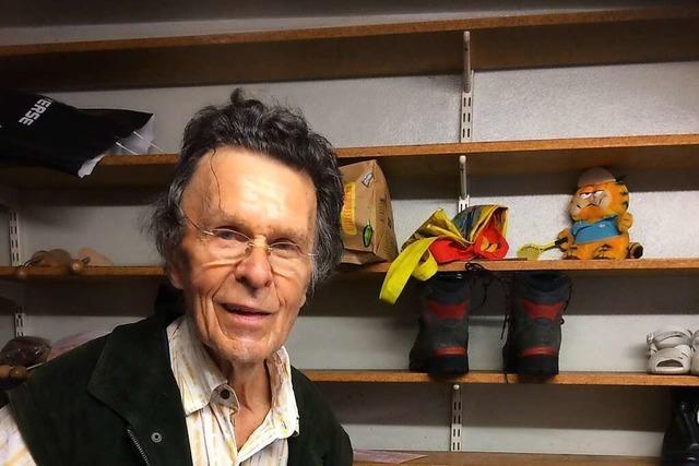 Mit 90 Jahren gibt Schuhmacher Eugen Hagen sein Bad Säckinger Geschäft auf