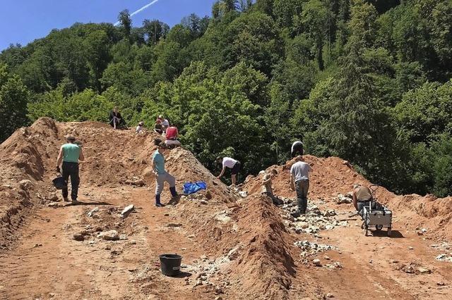 Die großen Mineralienhalden Sachtleben in Kirnbach öffnen für Sammler