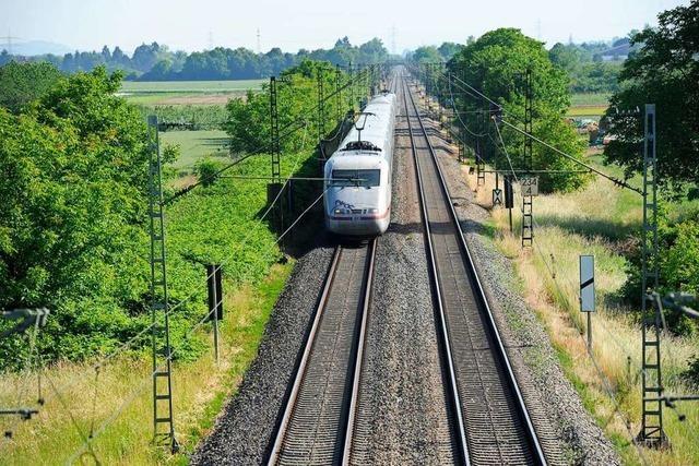 Zum Ausbau der Rheintalbahn müssen Grundstücke neu geordnet werden