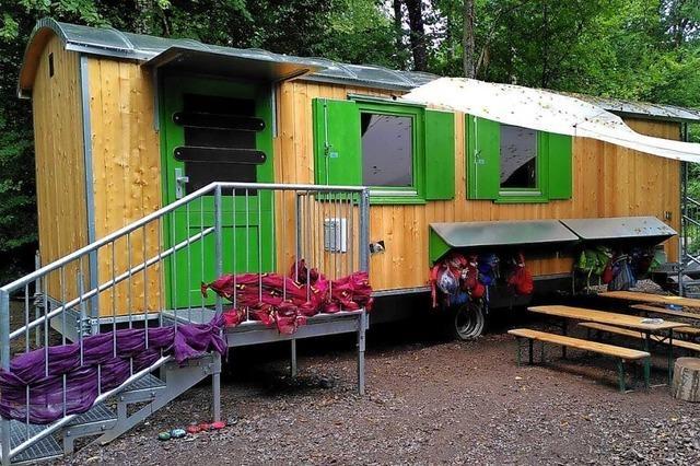 Bauwagen für den Naturkindergarten