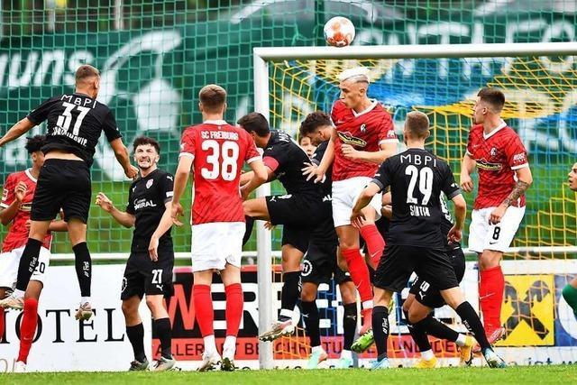 Testspiel in Schruns zwischen SC Freiburg und FC Vaduz endet 1:1