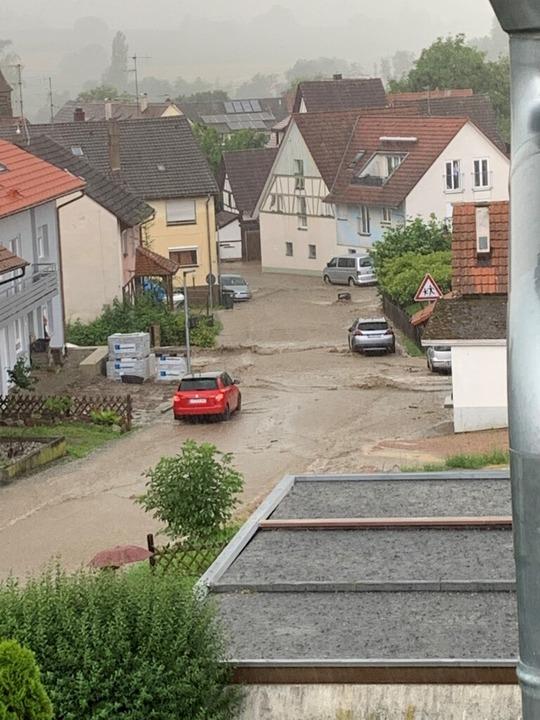 Hochwasser in Rümmingen  | Foto: Jörg Corsten