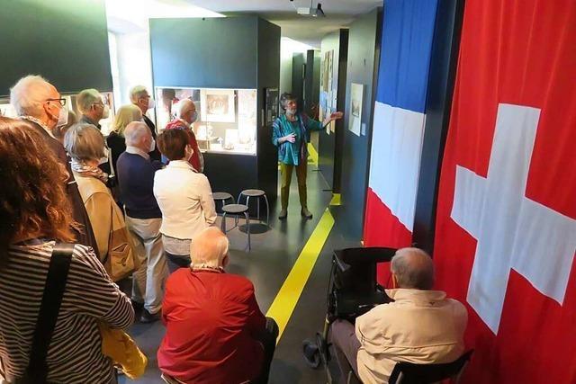 Freude über seit langem erste Führung im Lörracher Museum
