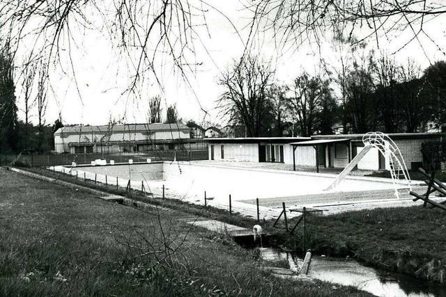 Das Kippenheimer Schwimmbad wird 100 Jahre alt