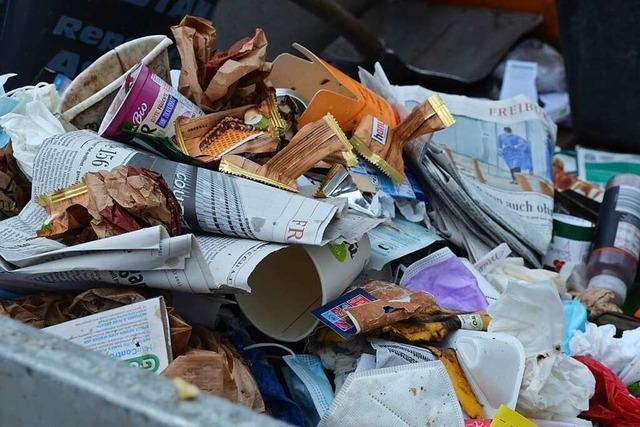 Wilder Müll ist ein wachsendes Problem in Kirchzarten