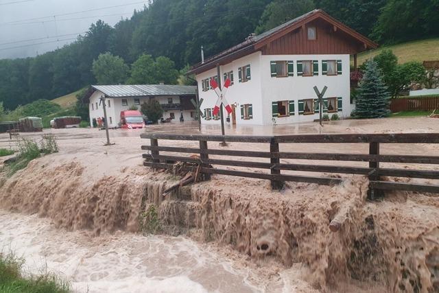 Newsblog: Berchtesgadener Land ruft Katastrophenfall aus