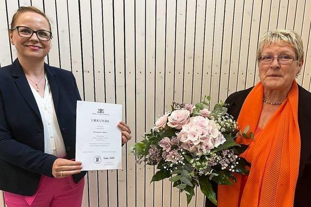 Die Wiechser Grundschulleiterin Rosemarie Jäkel wurde verabschiedet