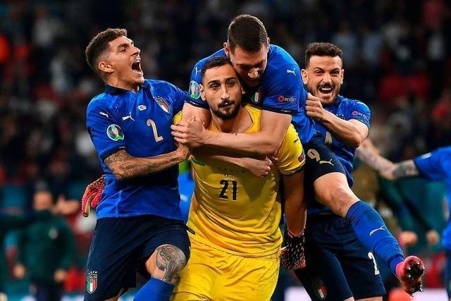 In der Elf des Turnier stehen fünf Italiener und drei Engländer
