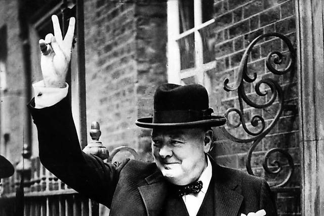 Vor 80 Jahren machte Winston Churchill das Victory-Zeichen populär