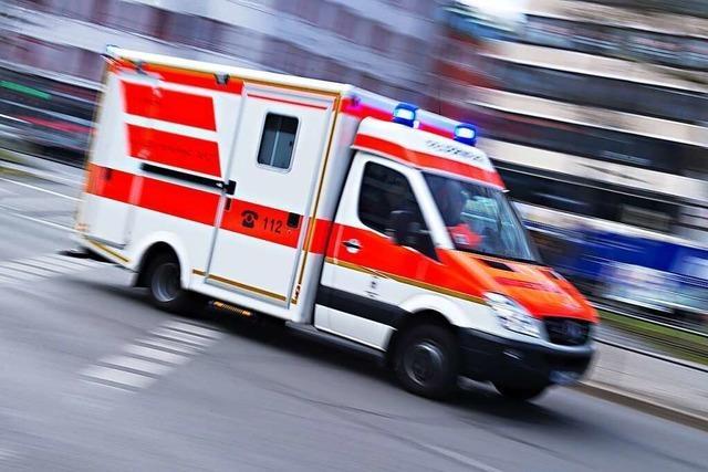 84-Jährige in Waldkirch wird bei Unfall schwer verletzt
