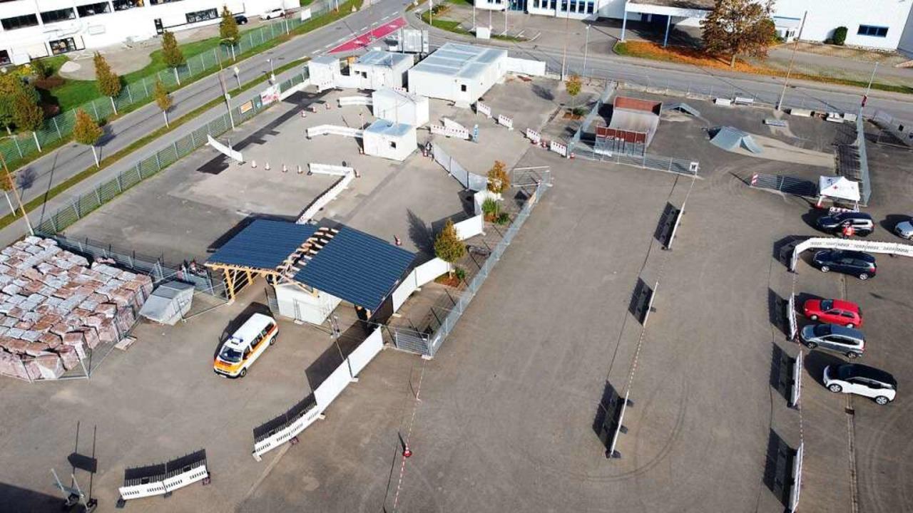 Am 31. Juli wird der Verkehr in der Ab...lle Malterdingen zunächst eingestellt.    Foto: Jens Ruppenthal/DRK-Kreisverband Emmendingen