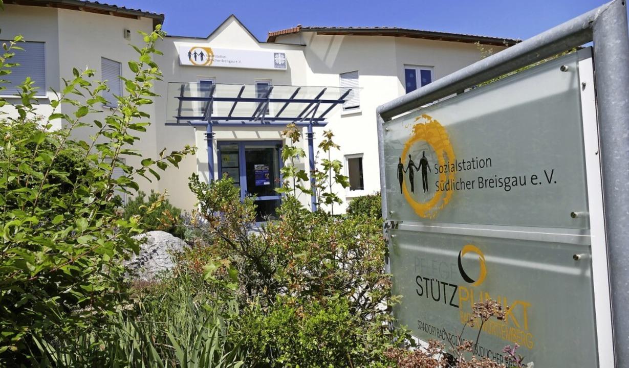 Bringt Hilfe zu Pflegebedürftigen in s...den: Sozialstation Südlicher Breisgau.    Foto: Hans-Peter Müller