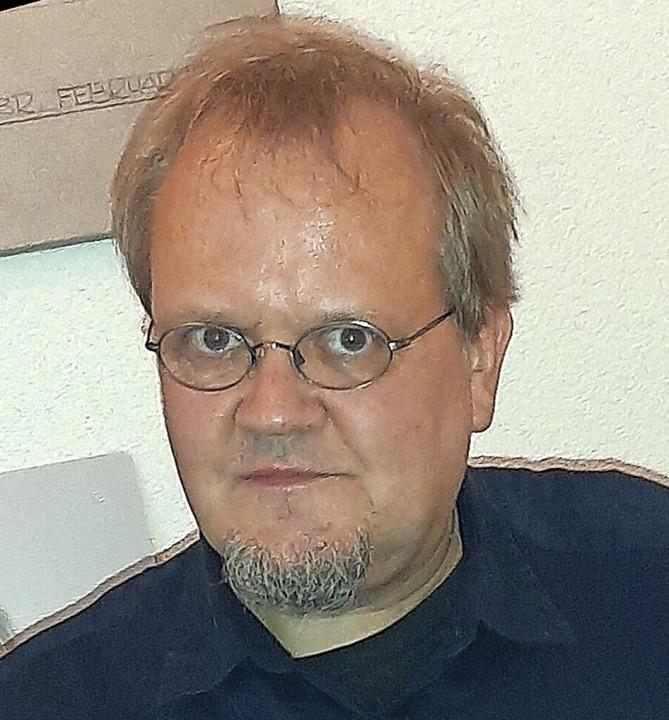 "Tobias Pflüger, Bundestagsabgeordneter für ""Die Linke""     Foto: Frank Kreutner"