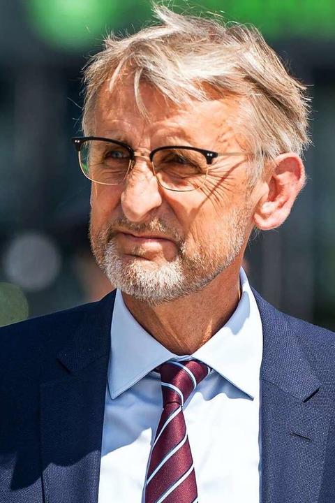 Armin Schuster,  Präsident des Bundesa...kerungsschutzes  und Katastrophenhilfe  | Foto: Michael Kappeler (dpa)