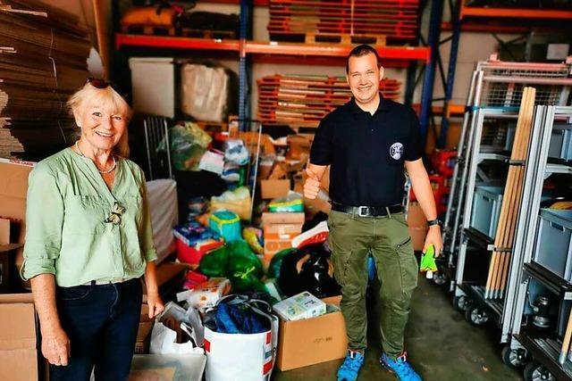 Dirigent der Lörracher Stadtmusik fährt mit Spenden ins Hochwasser-Katastrophengebiet