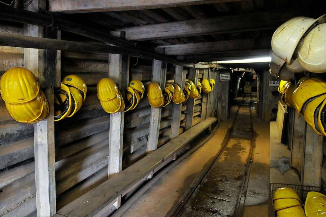 Der Betrieb im Besucherbergwerk am Schauinsland ist gesichert.    Foto: Ingo Schneider