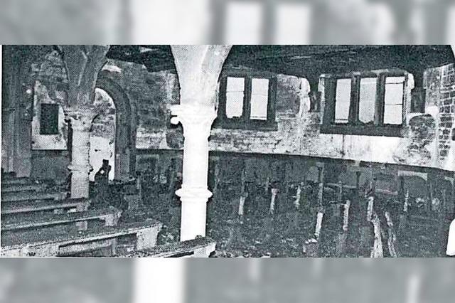 Als die Stadtkirche in Flammen aufging