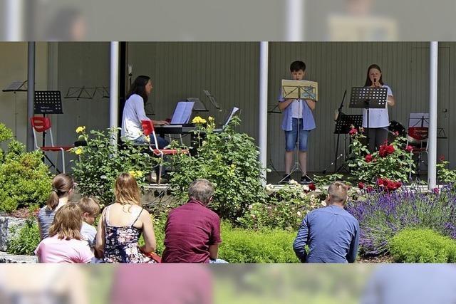 Musik auf dem Rathausplatz
