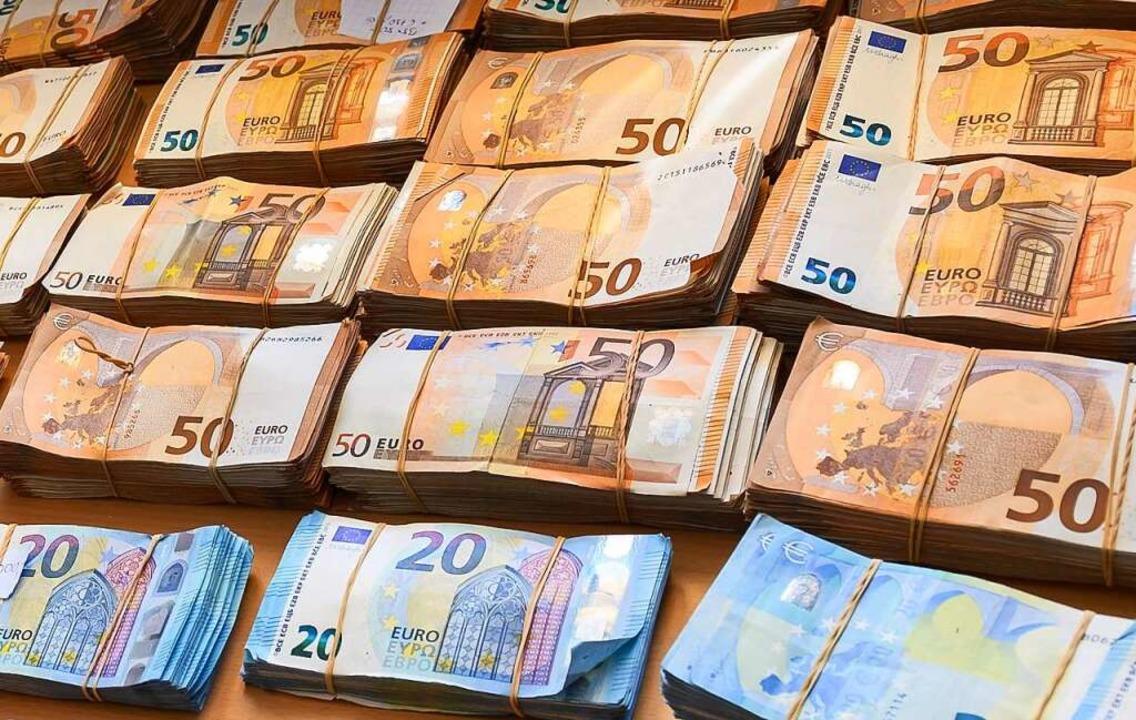 Die EU will Geldwäsche erschweren.     Foto: Silas Stein (dpa)