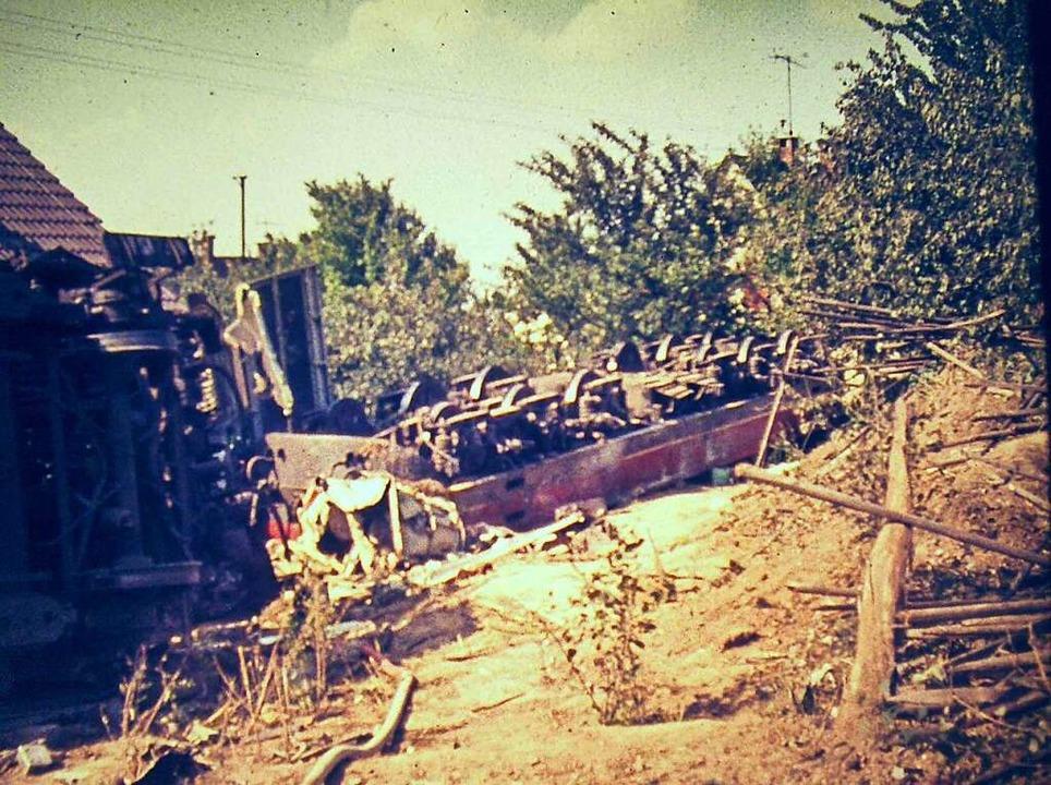 Den Helfern vor Ort bot sich ein katastrophales Bild.  | Foto: Werner Autenrieth