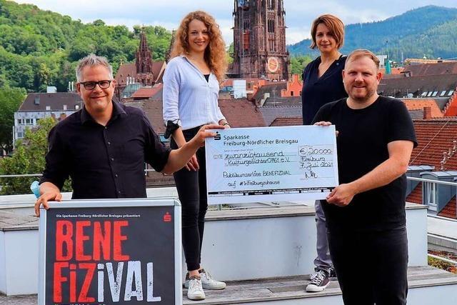 20.000 Euro-Spende für Freiburgs Kulturschaffende