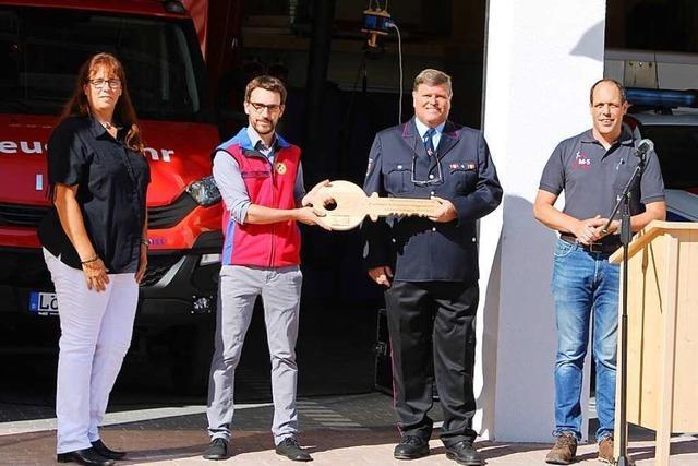 Feuerwehr und Bergwacht ziehen in Muggenbrunn zusammen