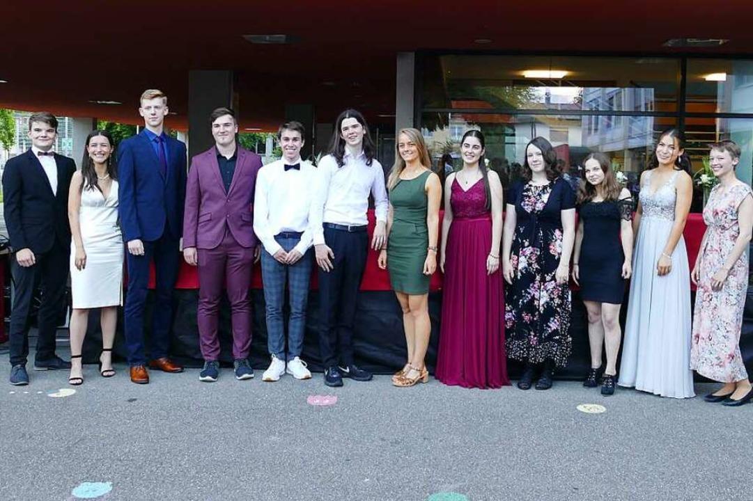 Preisträger des Abi-Jahrgangs am Geschwister-Scholl-Gymnasium Waldkirch  | Foto: Sylvia Sredniawa
